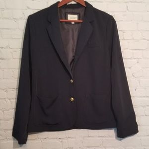 Forever 21☆Navy Two Button Blazer